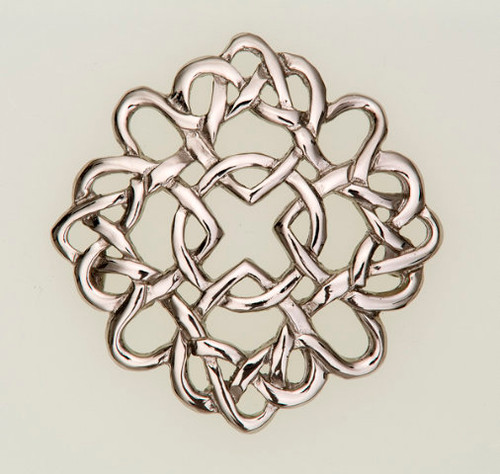 Four Mary's Brooch