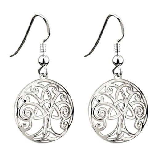 Tree of Life Dangly Earrings