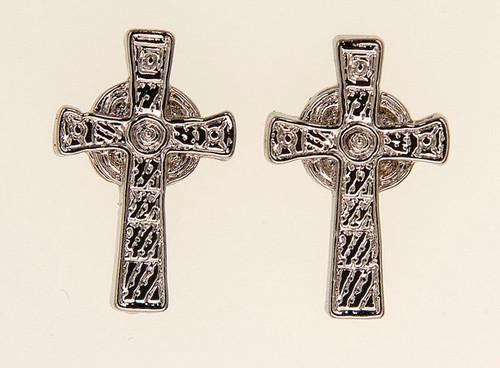 Iona Celtic Cross Earrings