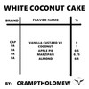 White Coconut Cake By Jason (Discounted Full Recipe)