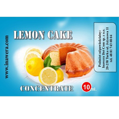 Lemon Cake Concentrate-INW