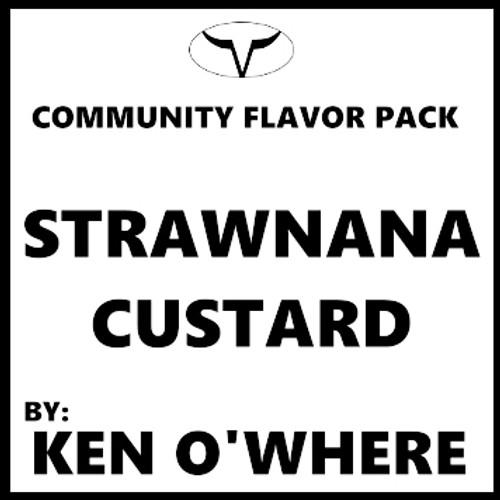 Strawnana Custard By Ken O'Where  (Discounted Full Recipe)
