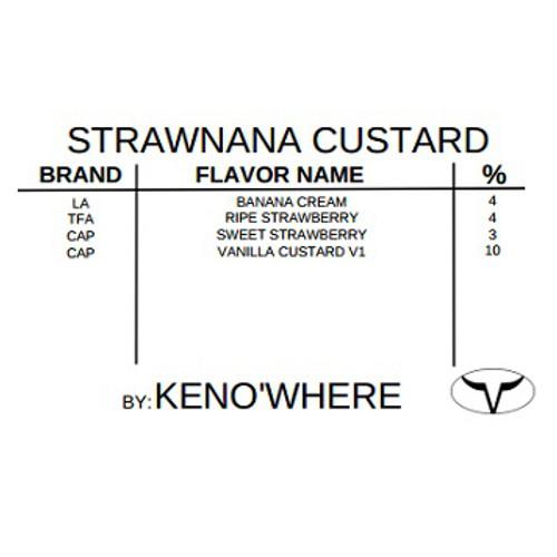 Strawnana Custard by Ken O'Where