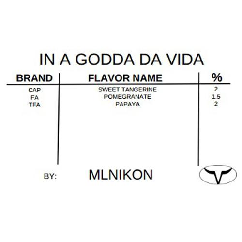 In A Godda Da Vida By mlNikon (Discounted Full Recipe)