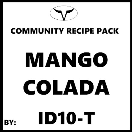 Mango Colada By ID10-T (Discounted Full Recipe)