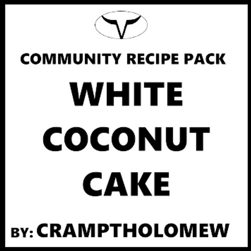 White Coconut Cake by Jason