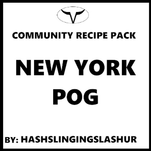 New York POG by hashslingslashur (Full Recipe, Discounted)