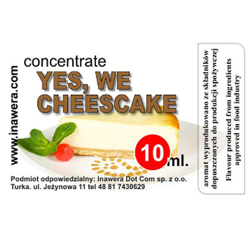 Yes We Cheesecake-INW