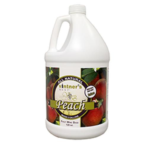 Vintners Best Peach Fruit Wine 128 oz
