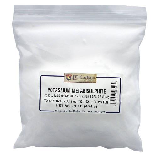 Potassium Metabisulfite 1oz
