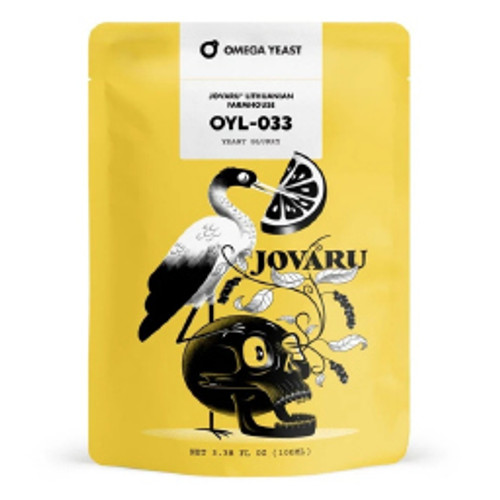 Omega Yeast OYL-033 Jovaru Lithuanian Farmhouse
