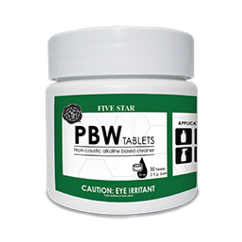 2.5g PBW Tablets Pack of 30