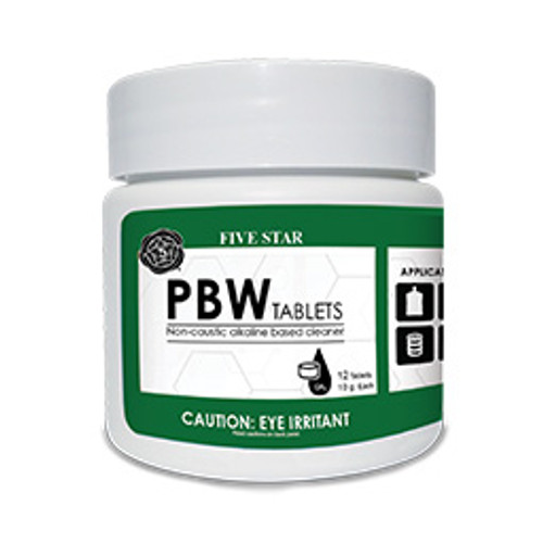 10g PBW Tablets Pack of 12