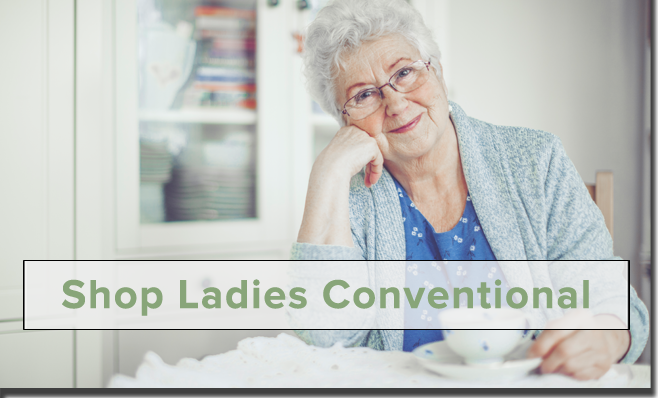 Shop Ladies Conventional Clothing!