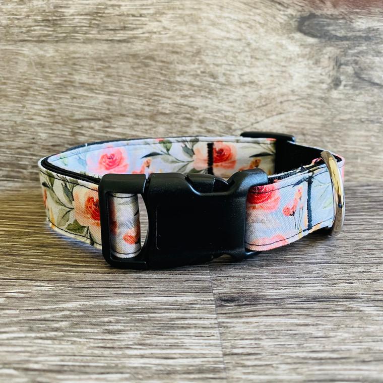 Collar - Pups & Petals - Yes Way Rose