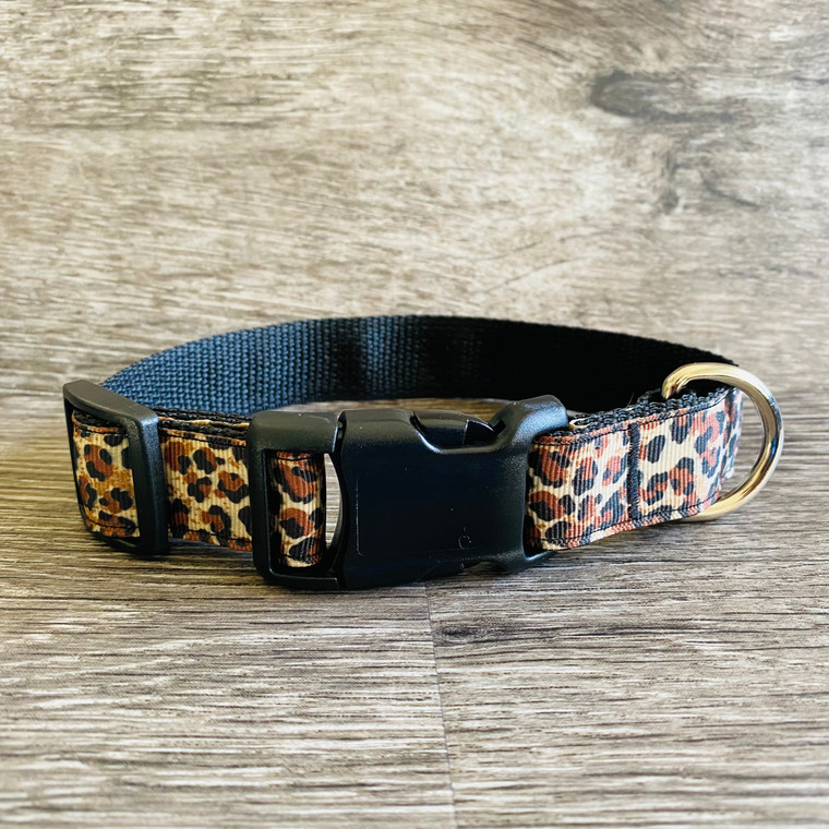 Collar - Printed Pets - Leopard Spots