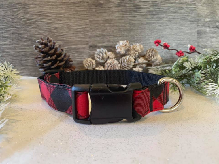 Collar - Christmas Cheer - Buffalo Plaid
