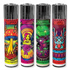 4-pack Clipper Lighter Psychedelic #1