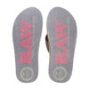 RAW x Rolling Paper Thong Sandals