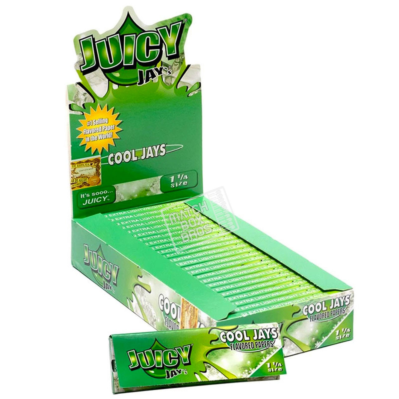 Juicy Jay's 1¼ Cool Jays Flavoured Paper
