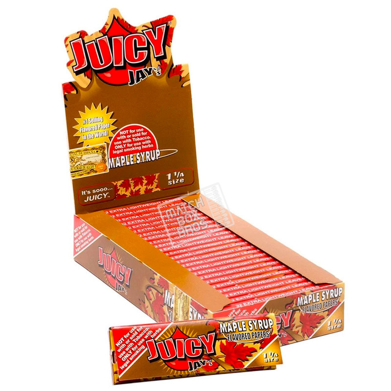 Juicy Jay's 1¼ Maple Syrup Flavoured Paper