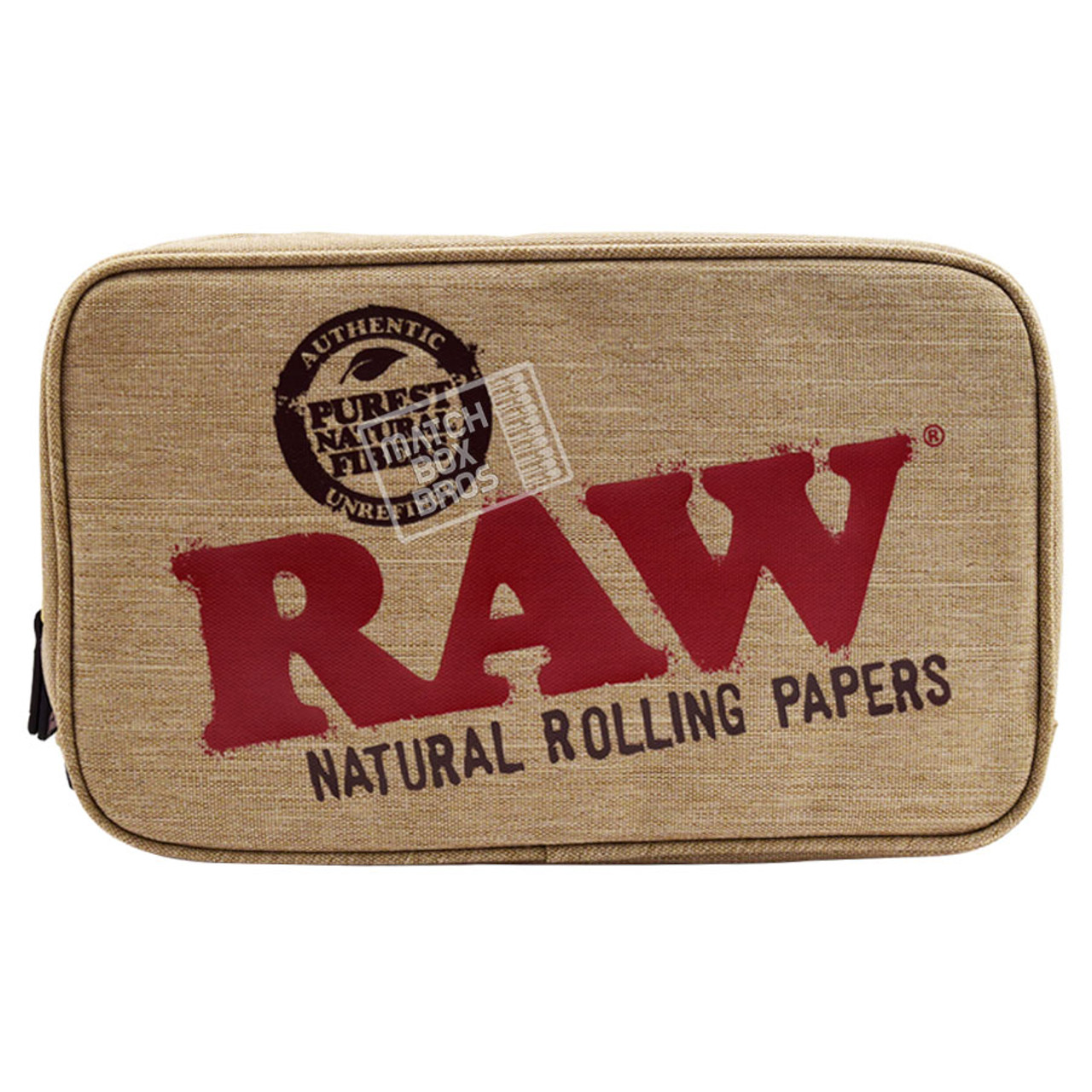 RAW SMELL PROOF SMOKER POUCH LARGE