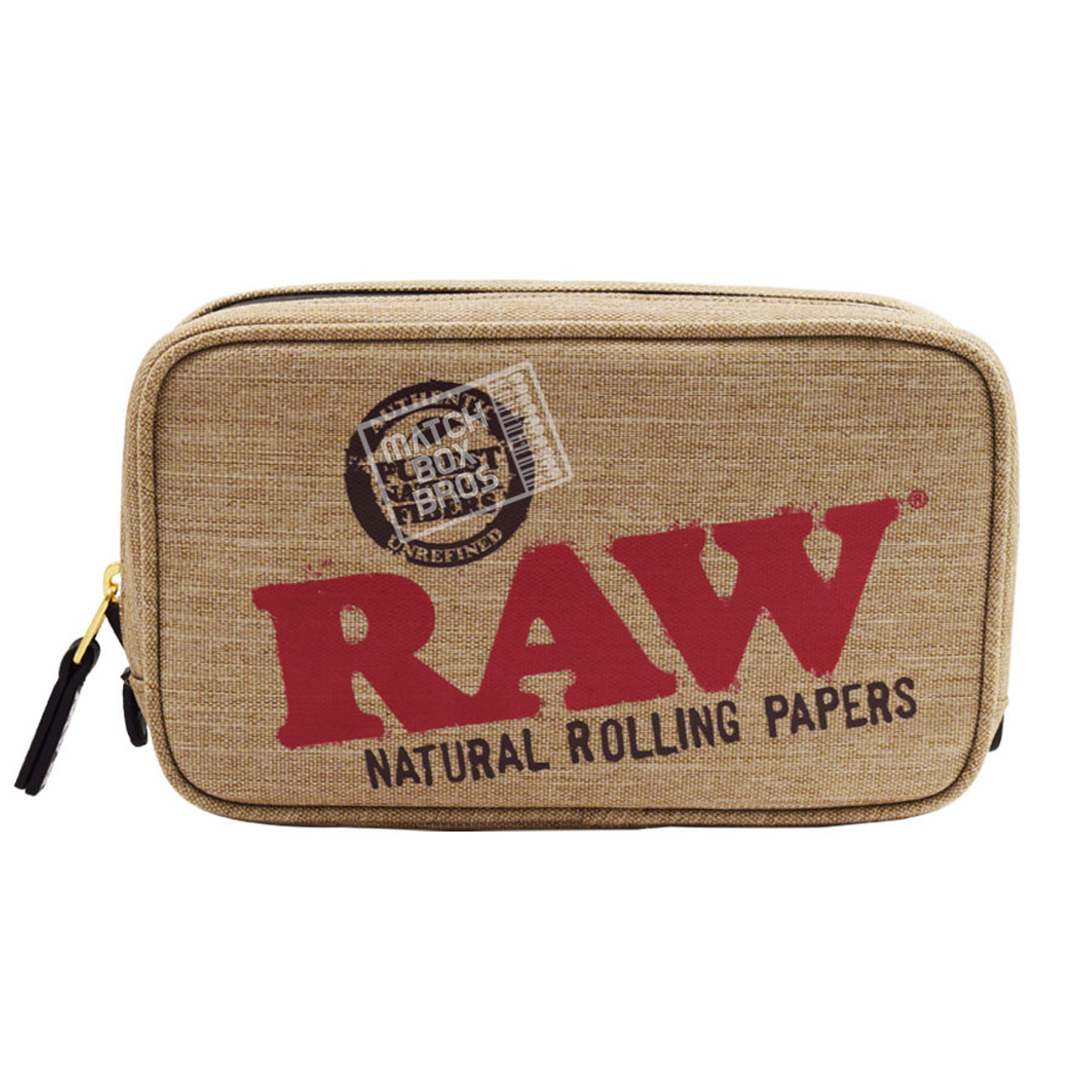RAW SMELL PROOF SMOKER POUCH MEDIUM