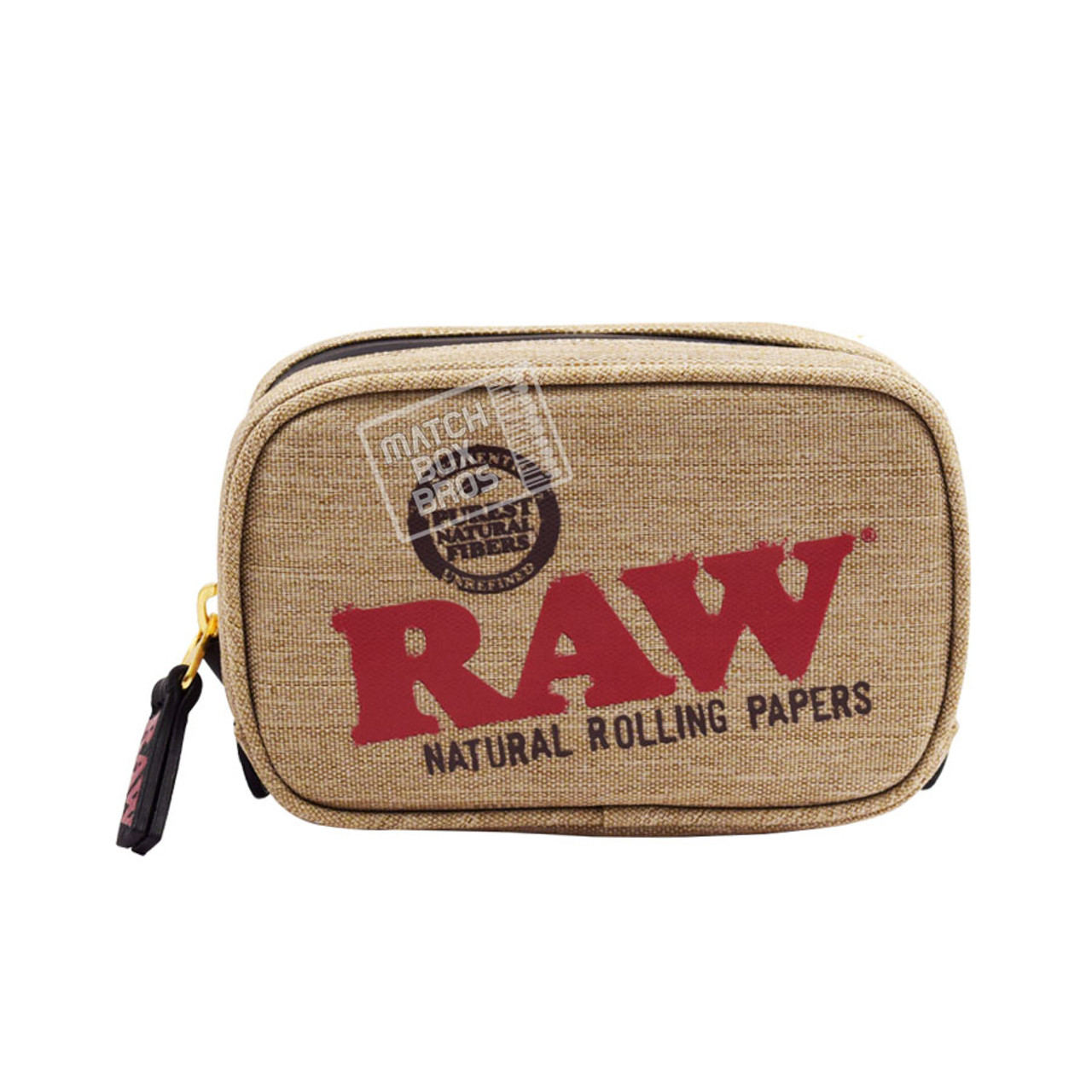 RAW SMELL PROOF SMOKER POUCH SMALL