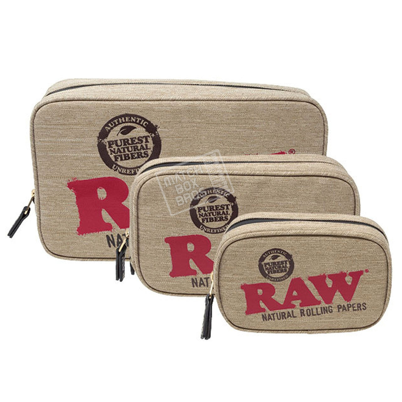 RAW SMELL PROOF SMOKER POUCH