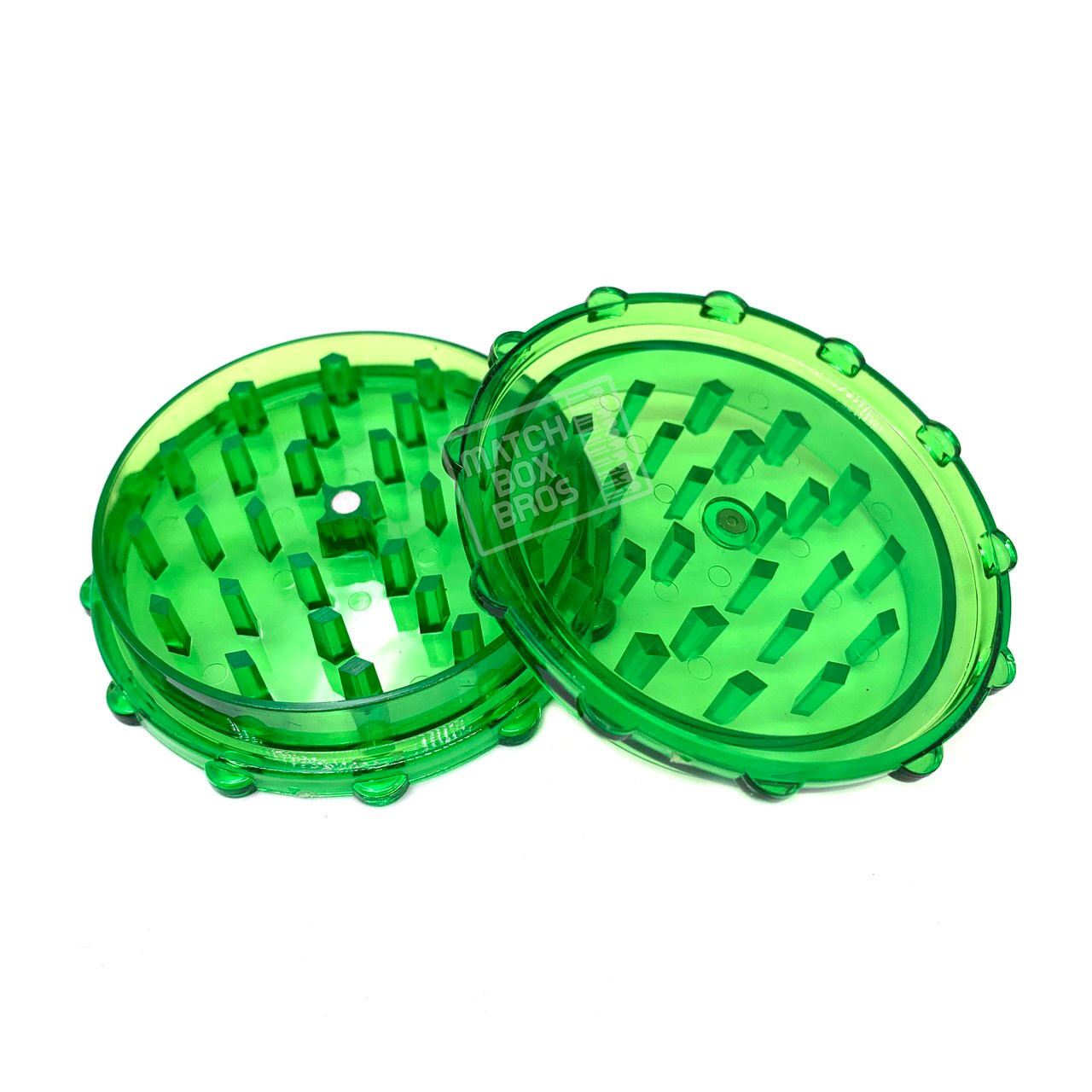 Grinder Acrylic 70mm 2 Part Magnet [GRP122] Green