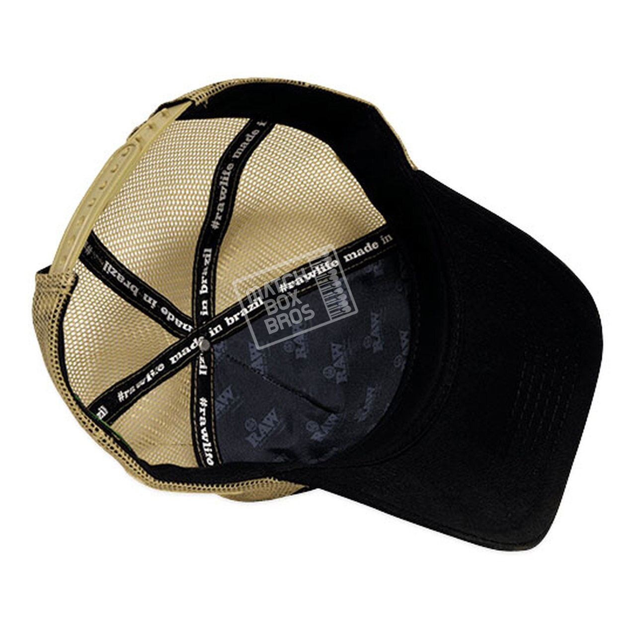 RAW Brazil Black Trucker Hat 03