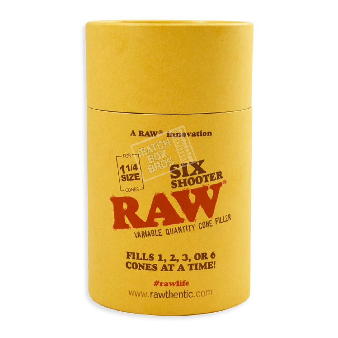 RAW Six Shooter 1 1/4 Size