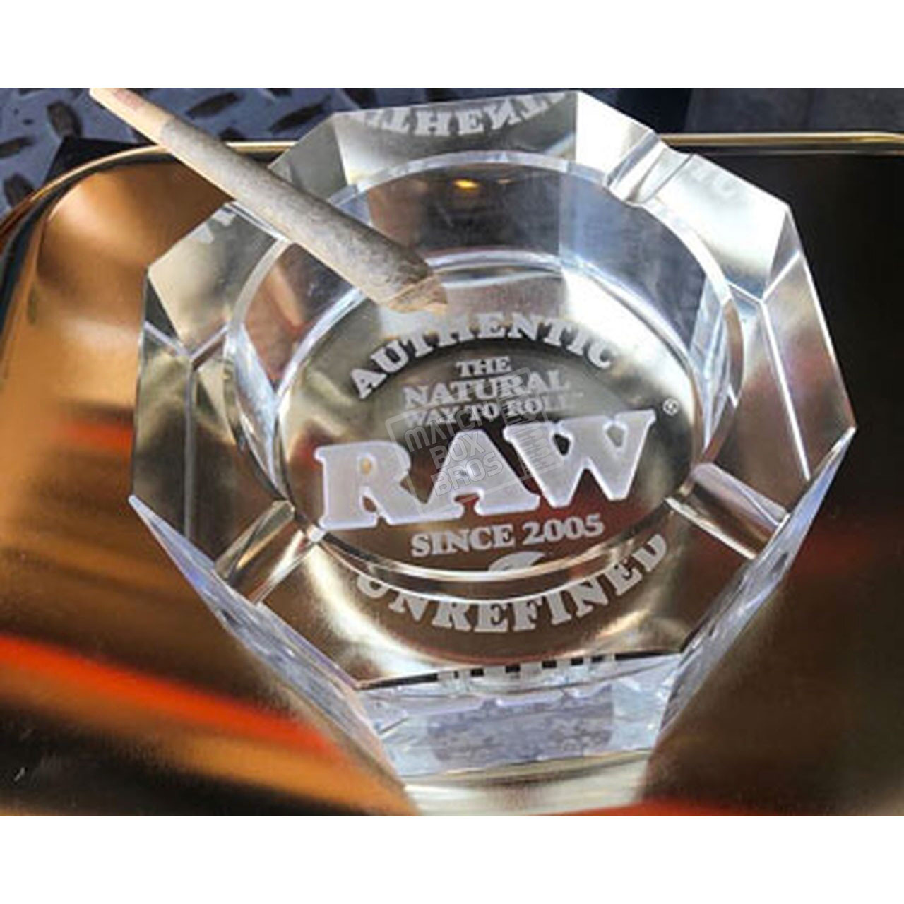RAW Crystal Ashtray 03