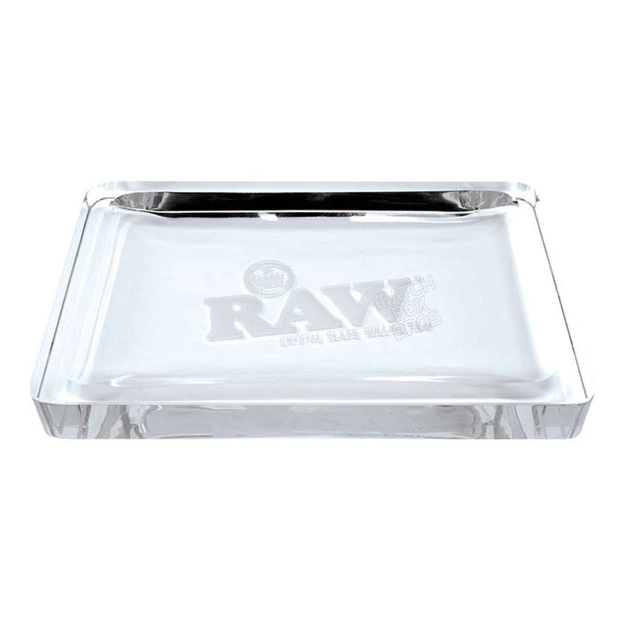 RAW Crystal Glass Rolling Tray 02