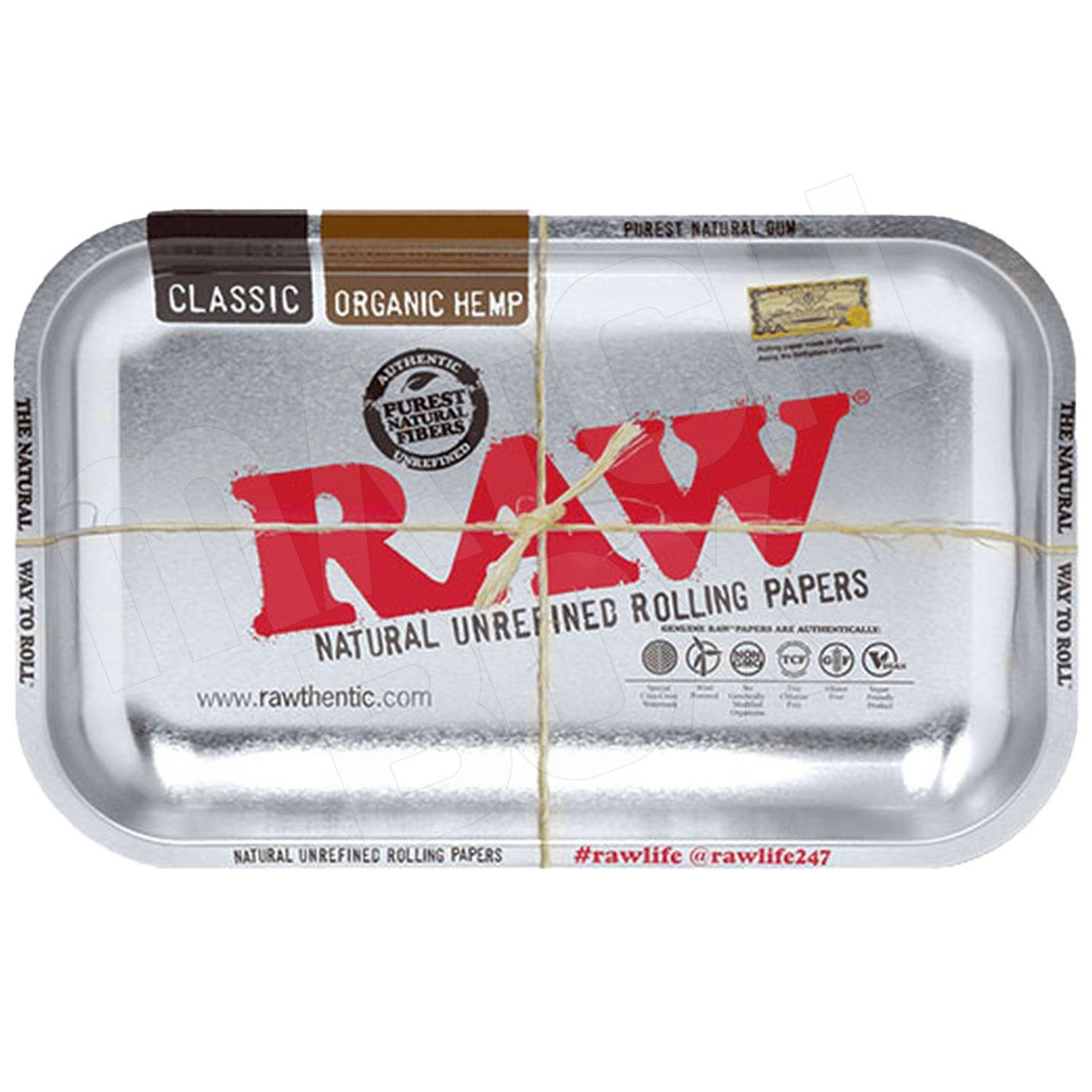 RAW METALLIC TRAY SMALL