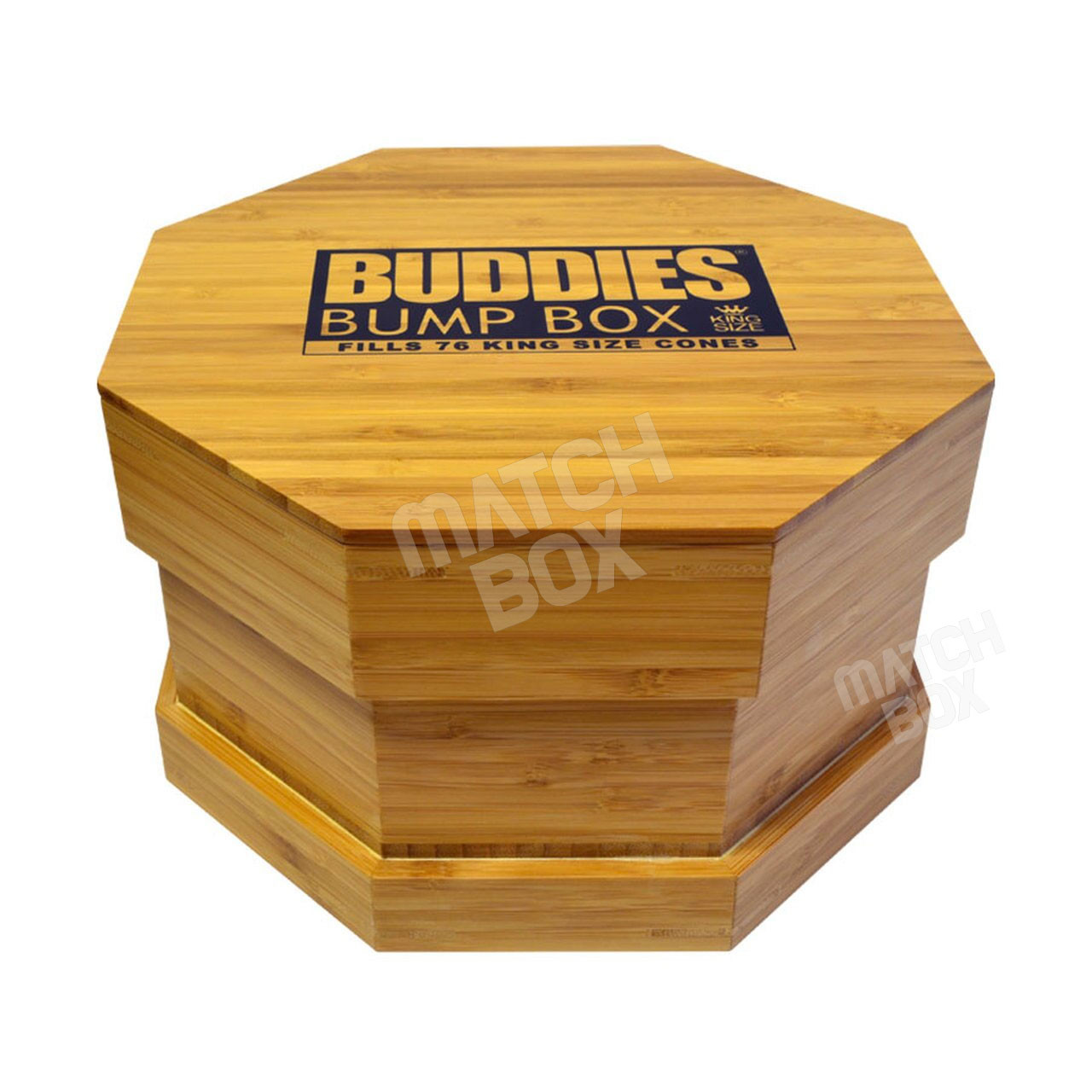 BUDDIES WOOD BUMP BOX WITH LID