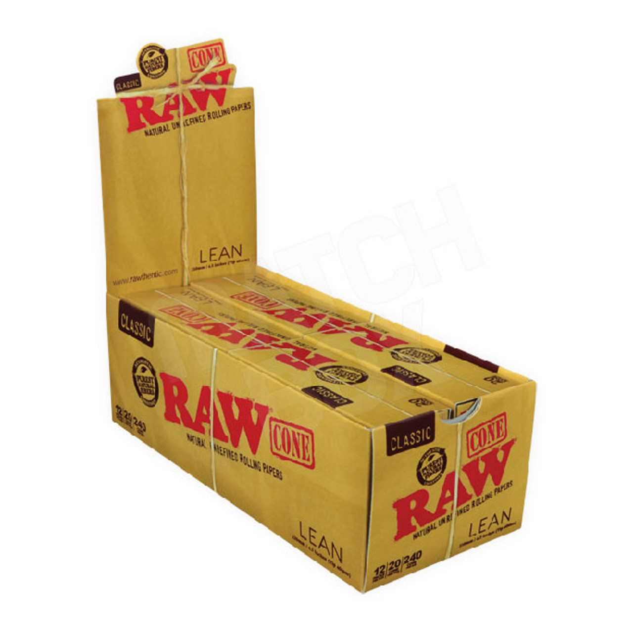 RAW CONE LEAN 20 CONES BOX
