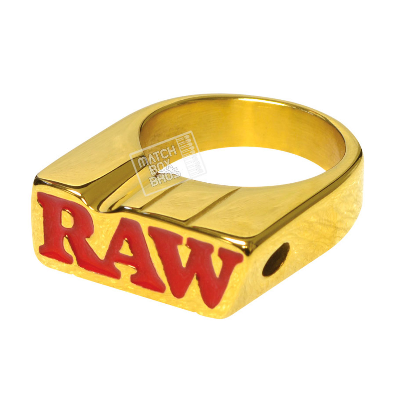 RAW Smoke Ring Gold Finish