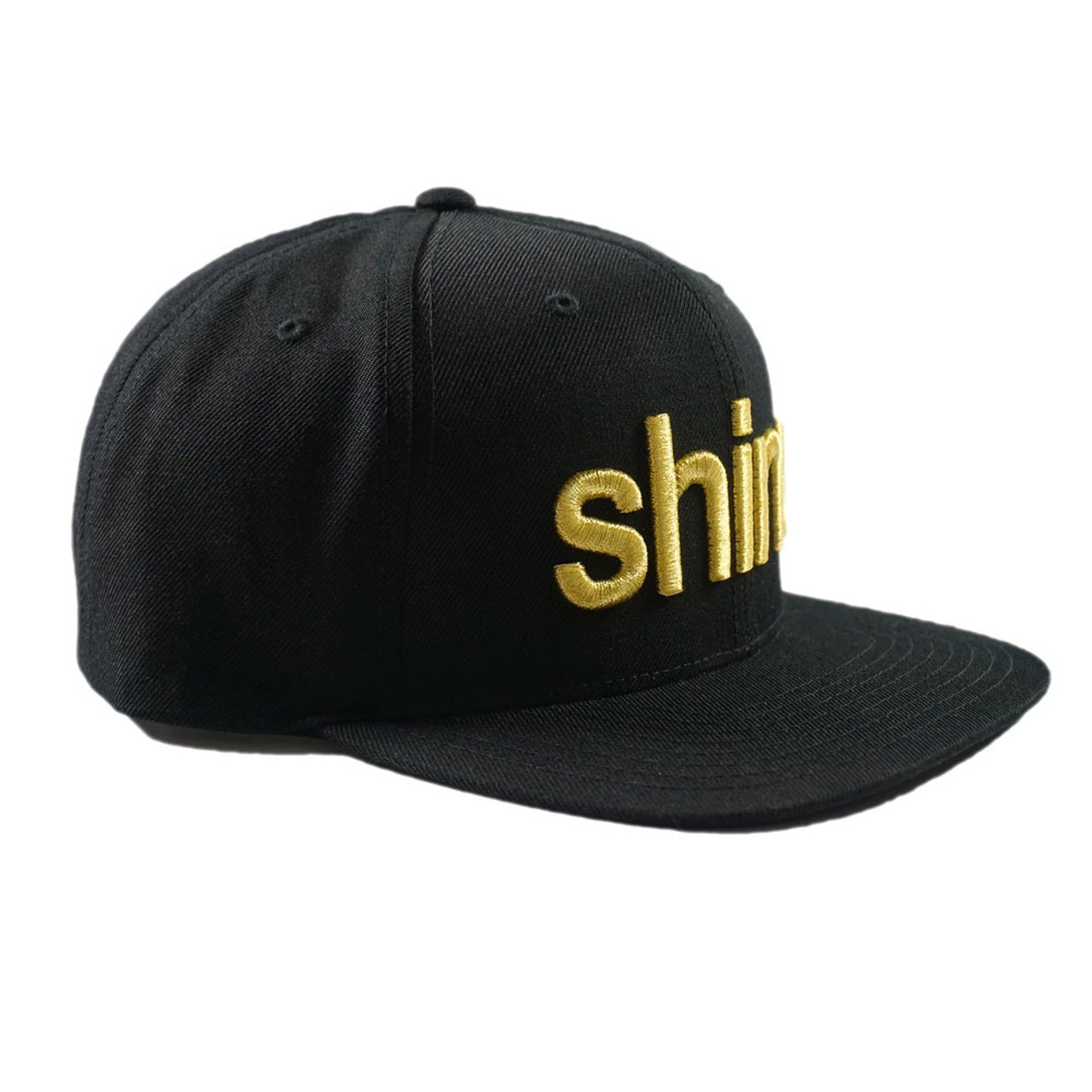 Shine Gold Gang Snapback Hat Front