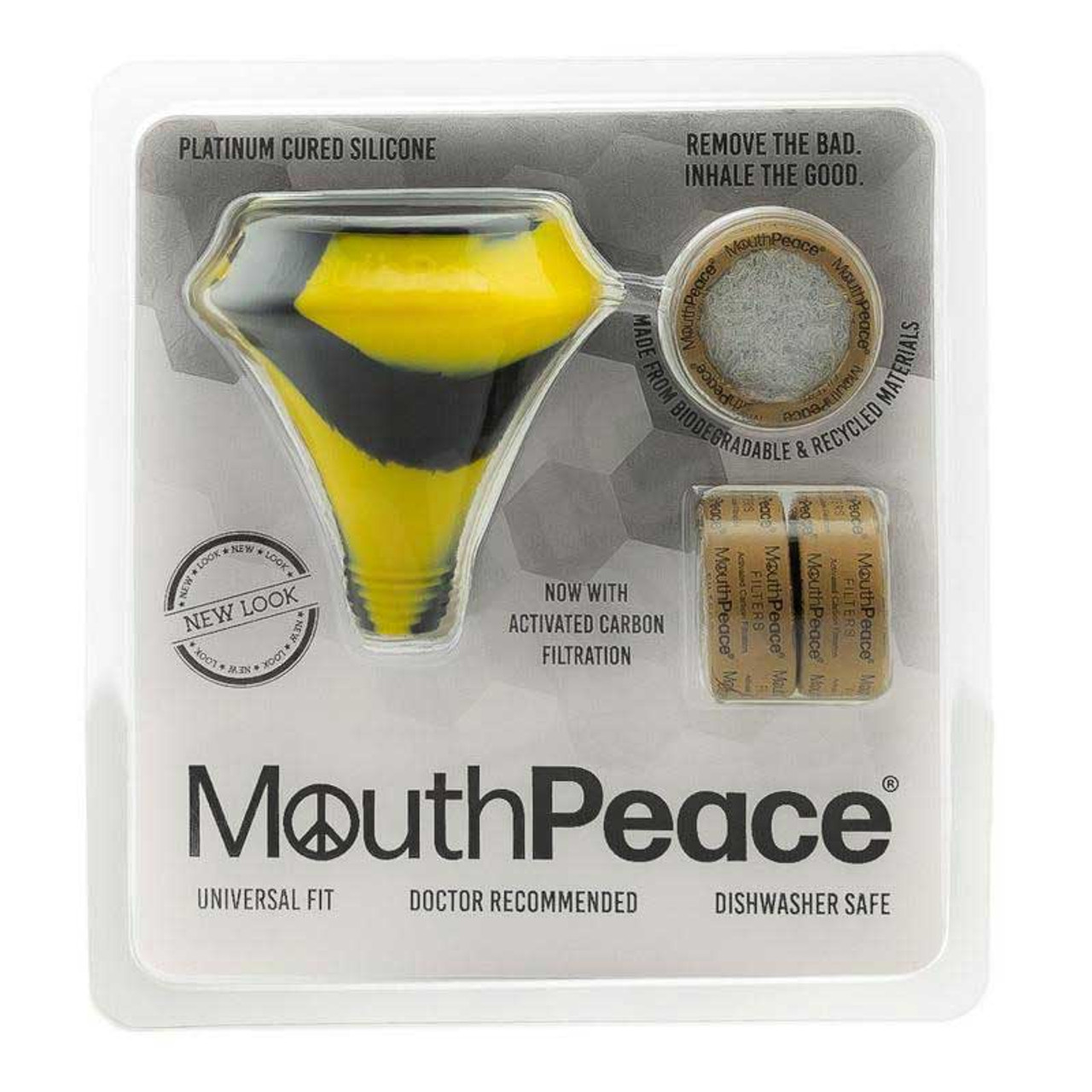 MouthPeace by Moose Labs Starter Kit in Black and Yellow