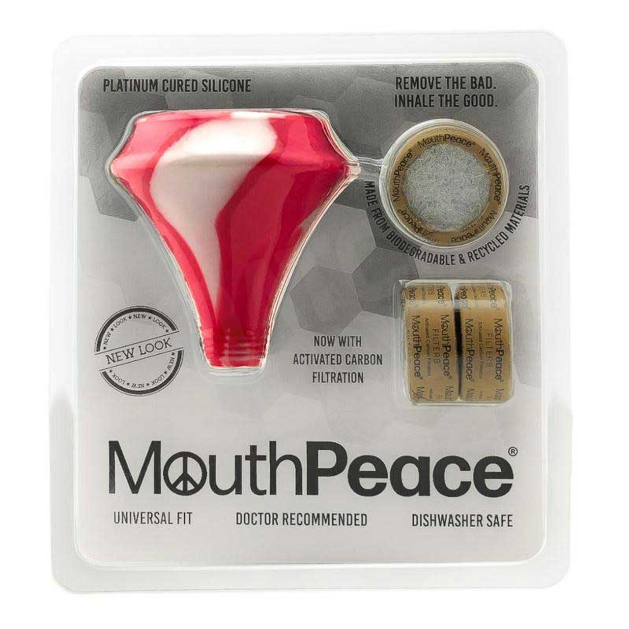 MouthPeace by Moose Labs Starter Kit in Red Pink and White