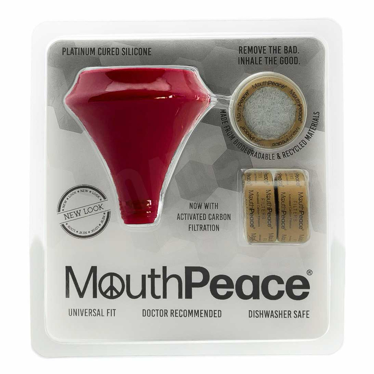 MouthPeace by Moose Labs Starter Kit in Red