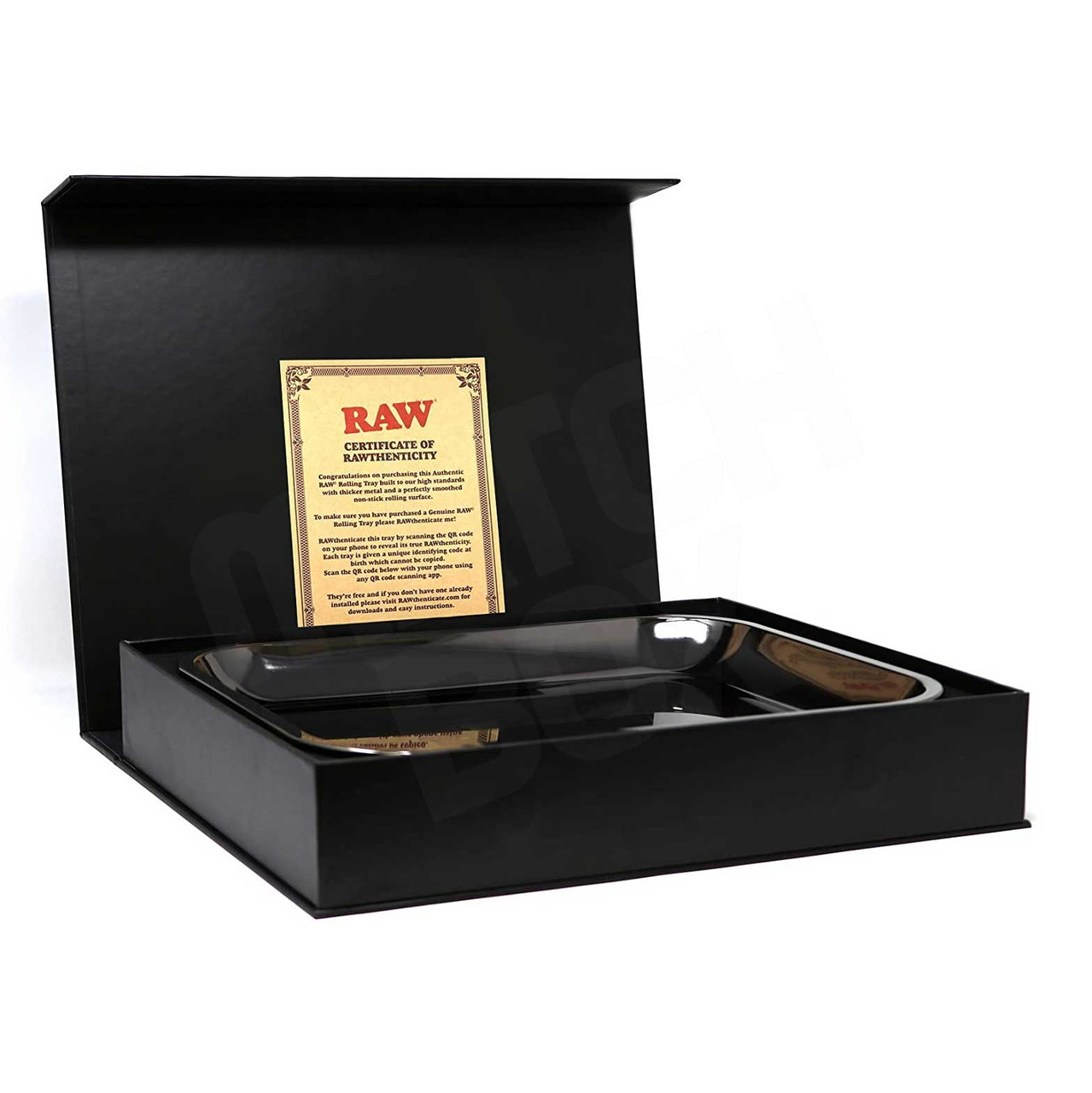 RAW Black Gold Tray in Box
