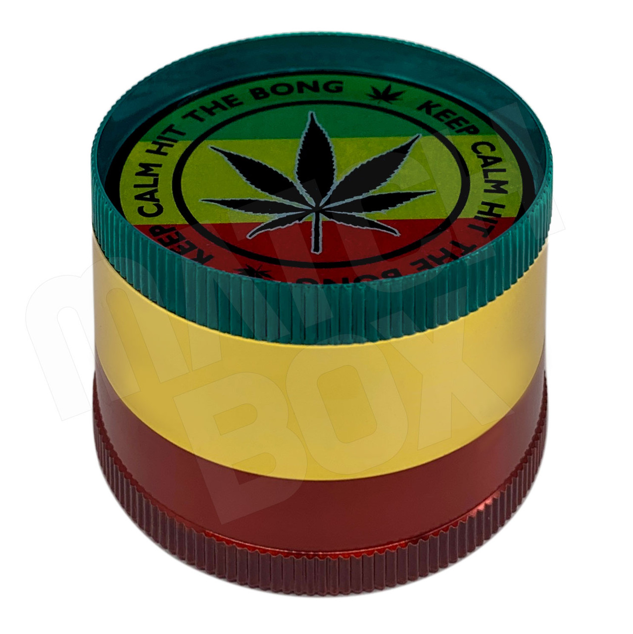 Rasta Keep Calm 50mm Basic Grinder