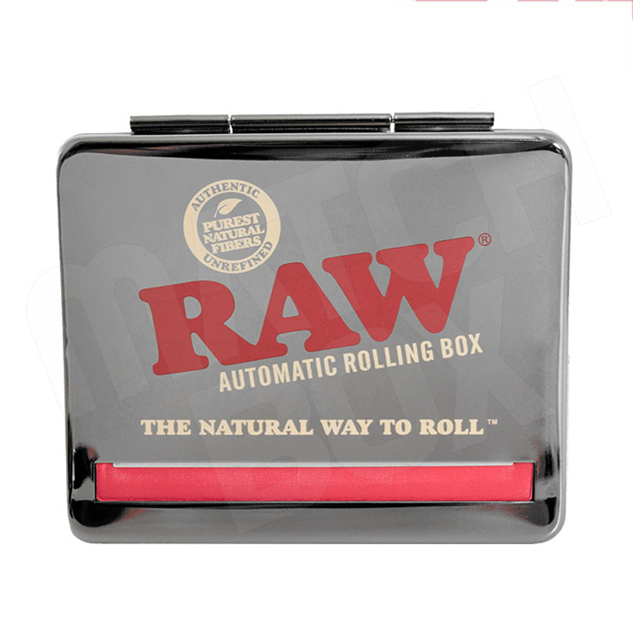 RAW 110mm Automatic Rolling Box Black Chrome