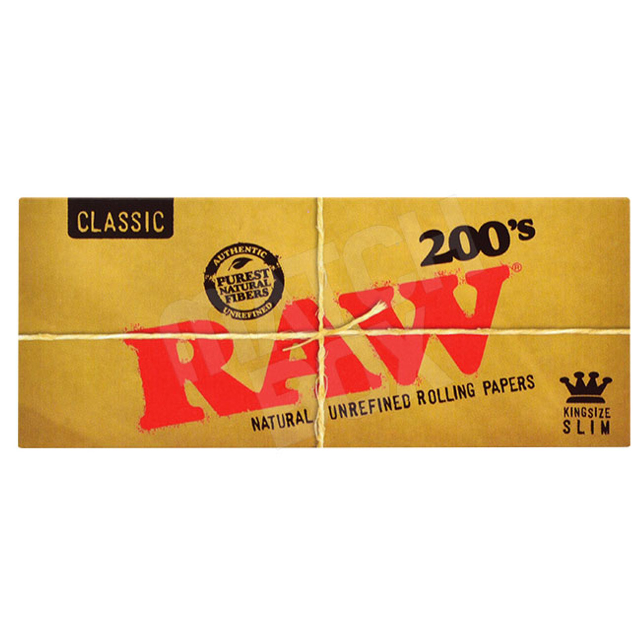RAW King Size Slim 200's Single Pack