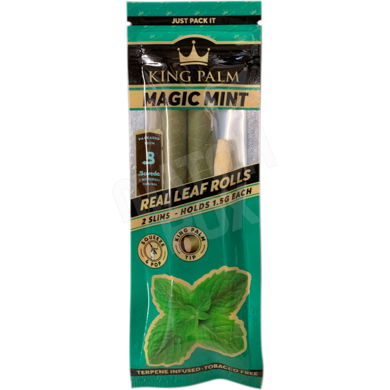 King Palm Slim Magic Mint Single Pouch