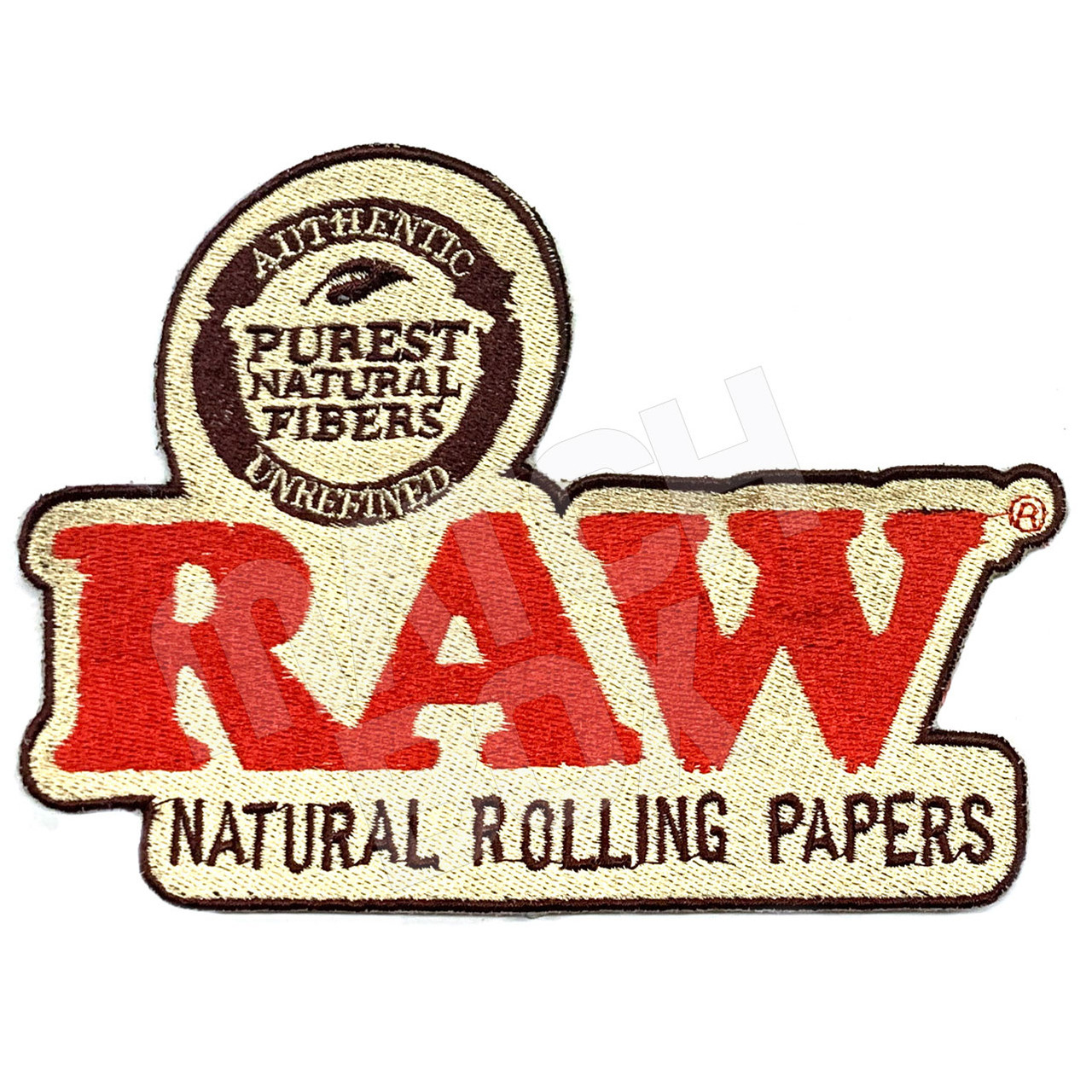 RAW Smokers Patch Collection - RAW Logo