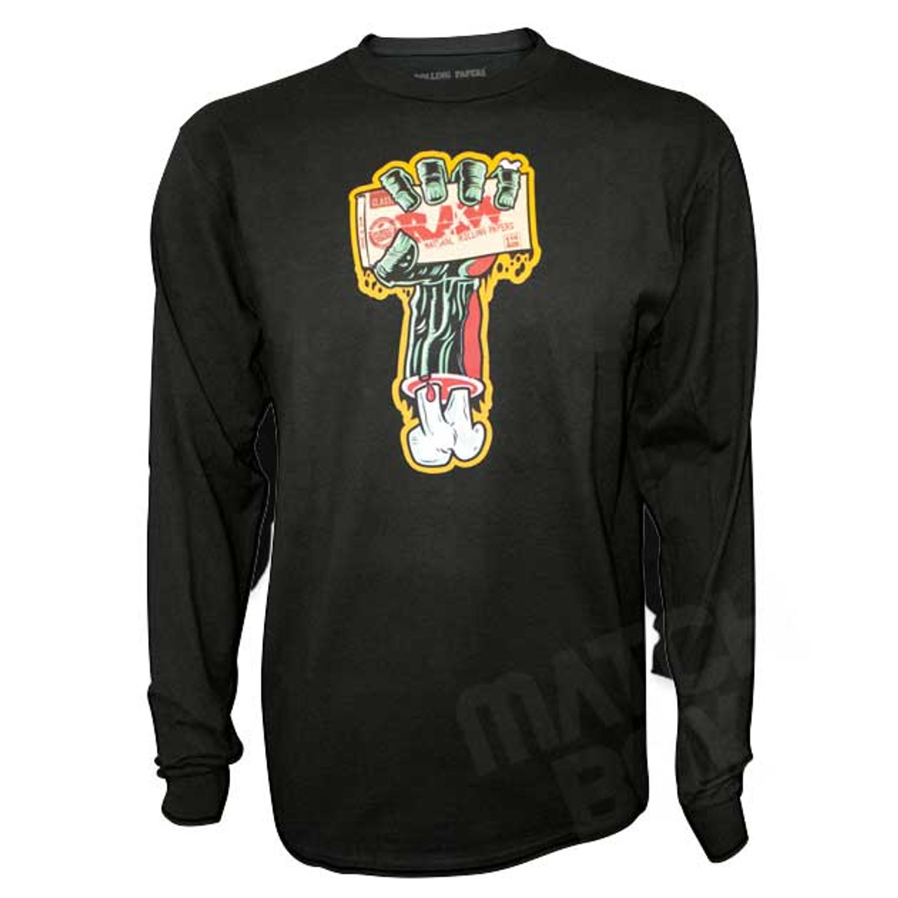 RAW Zombie Arm Long Sleeve Shirt
