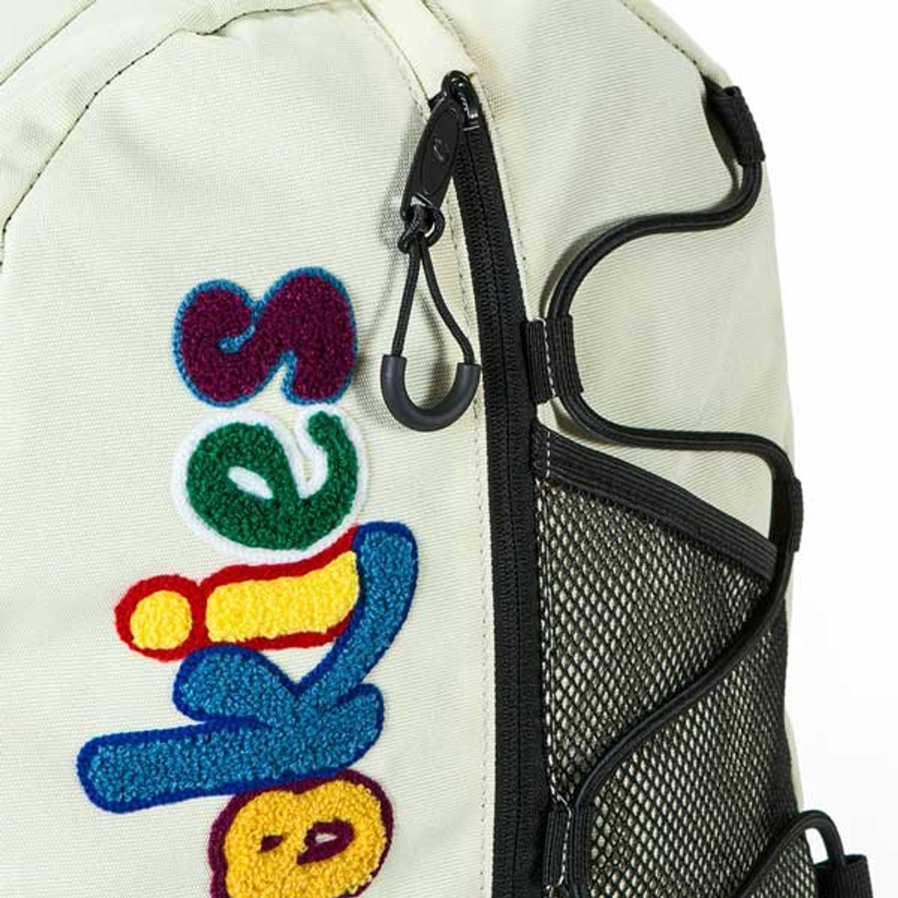The Bungee Backpack in Cream by Cookies SF